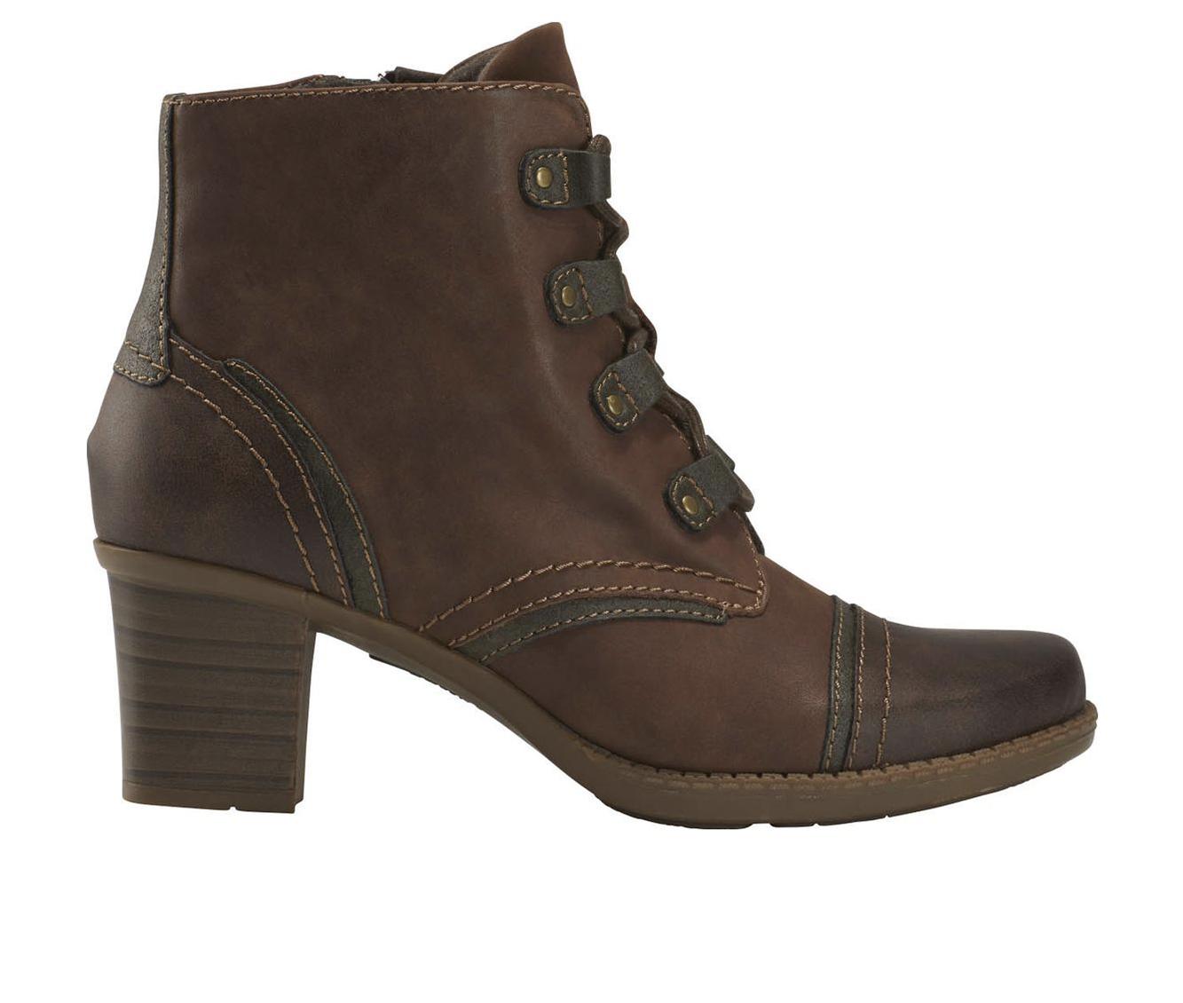 Earth Origins Wheaton Wynn Women's Boots (Brown - Canvas)