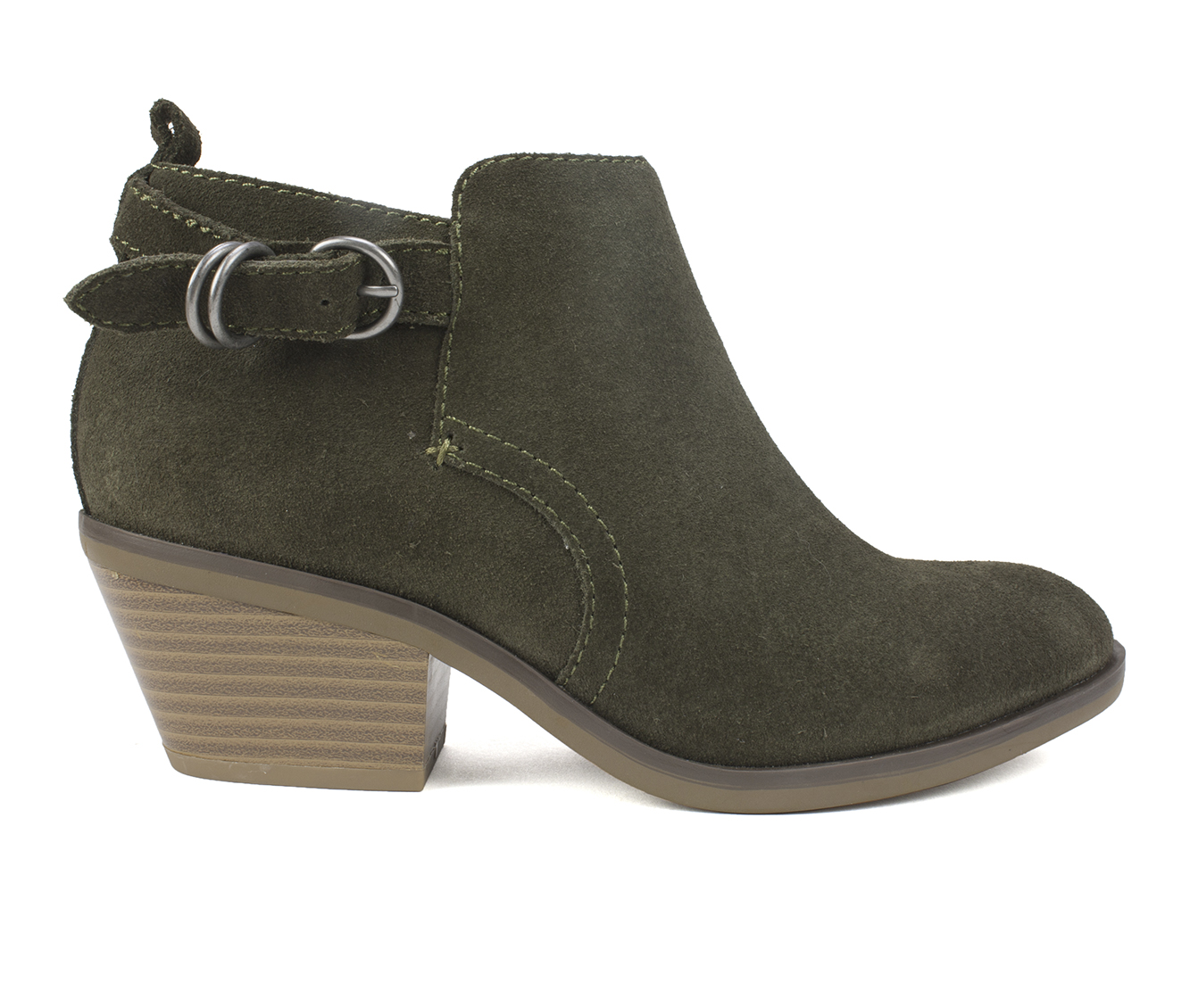 White Mountain Sadie Women's Boots (Green - Suede)