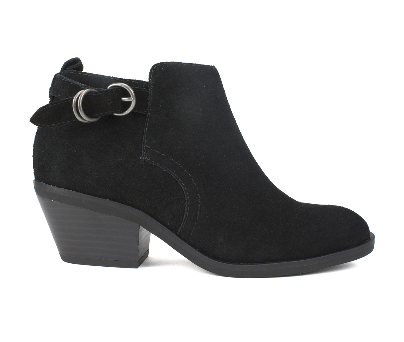 White Mountain Sadie Women's Boots (Black - Suede)
