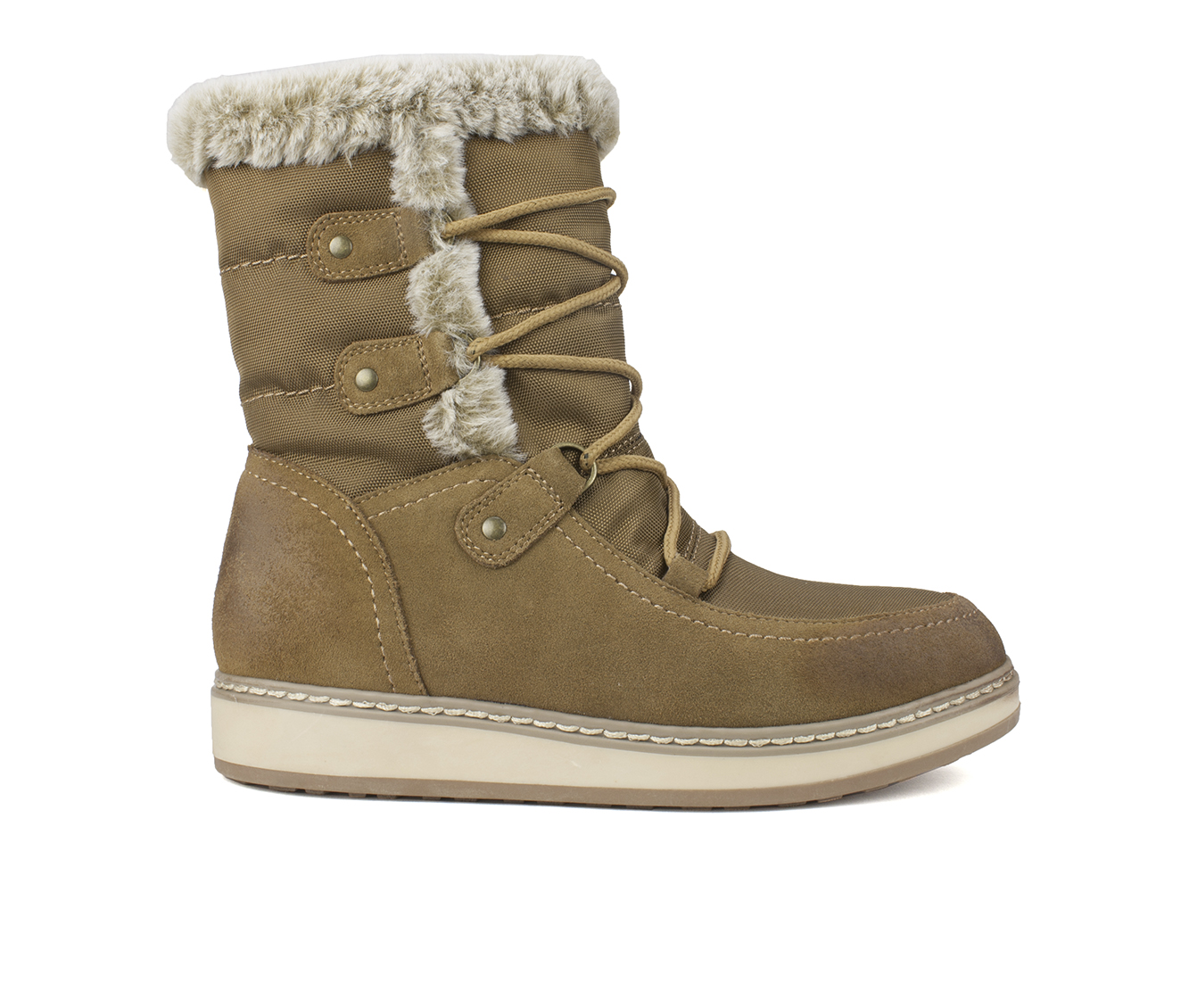 White Mountain Tansley Women's Boots (Brown - Suede)