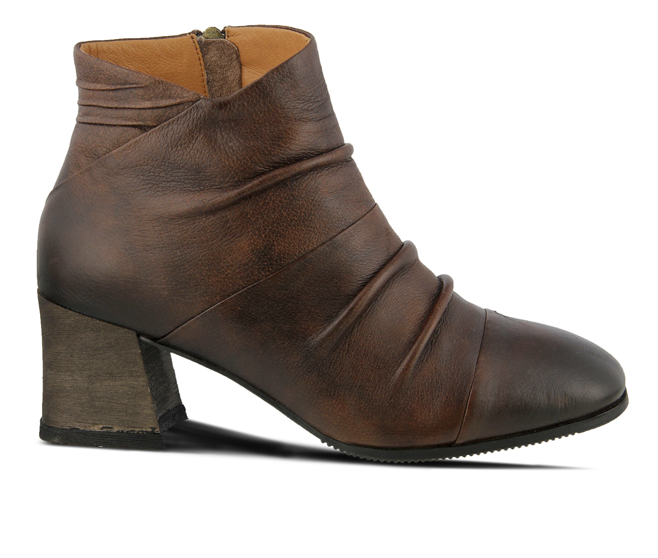 L'Artiste Melani Women's Boots (Brown Leather)