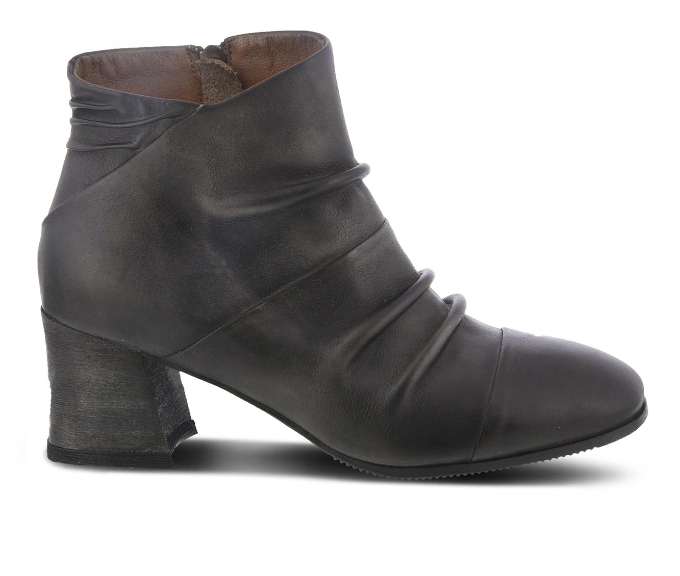 L'Artiste Melani Women's Boots (Gray Leather)