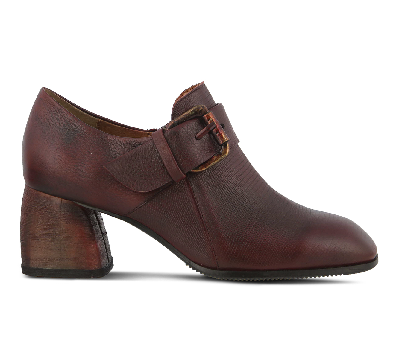 L'Artiste Mercedez Women's Dress Shoe (Red Leather)