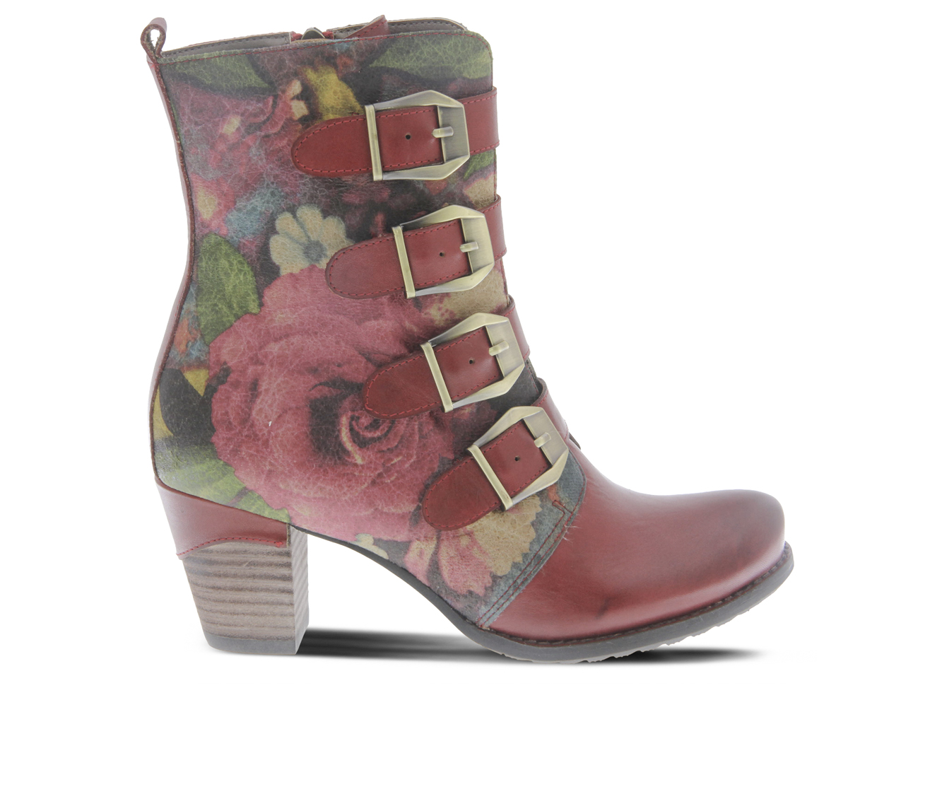 L'Artiste Lahae Women's Boots (Red Leather)