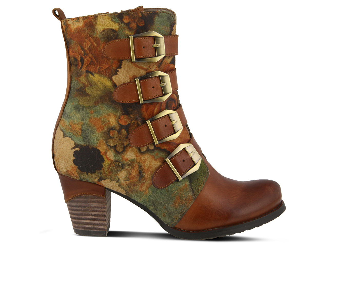 L'Artiste Lahae Women's Boots (Brown - Leather)