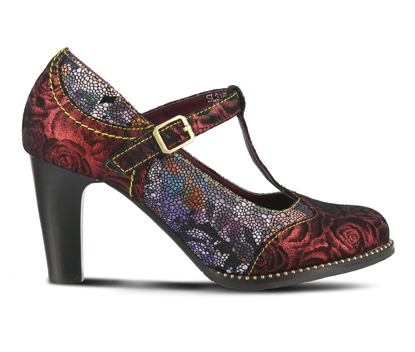 L'Artiste Mazie Women's Dress Shoe (Red Leather)