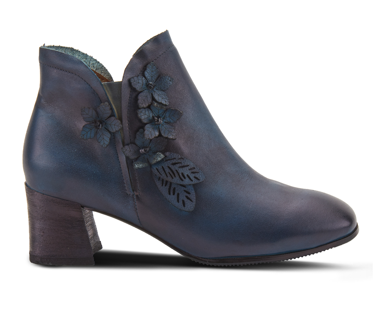 L'Artiste Loralie Women's Boots (Blue Leather)