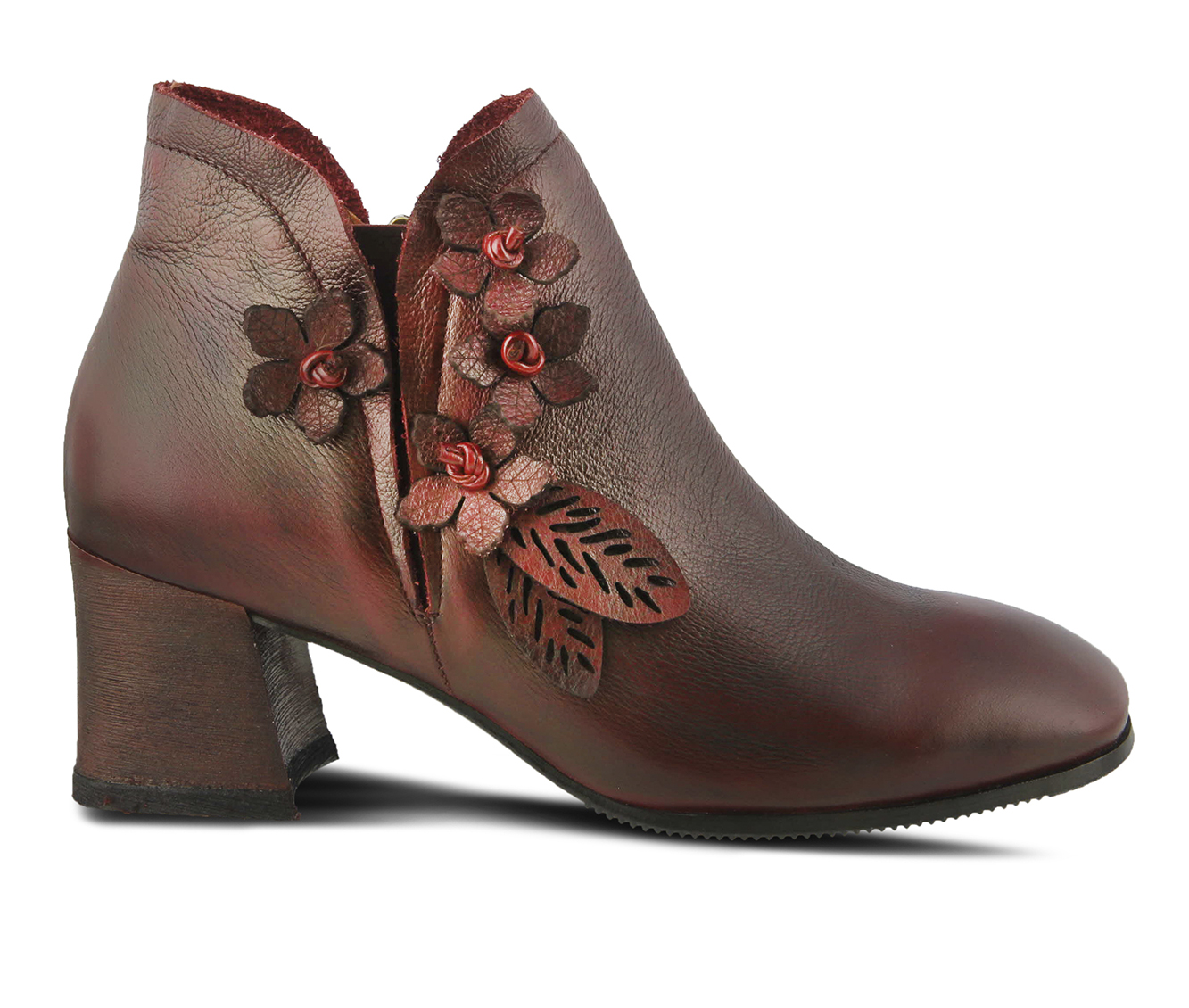 L'Artiste Loralie Women's Boots (Red Leather)
