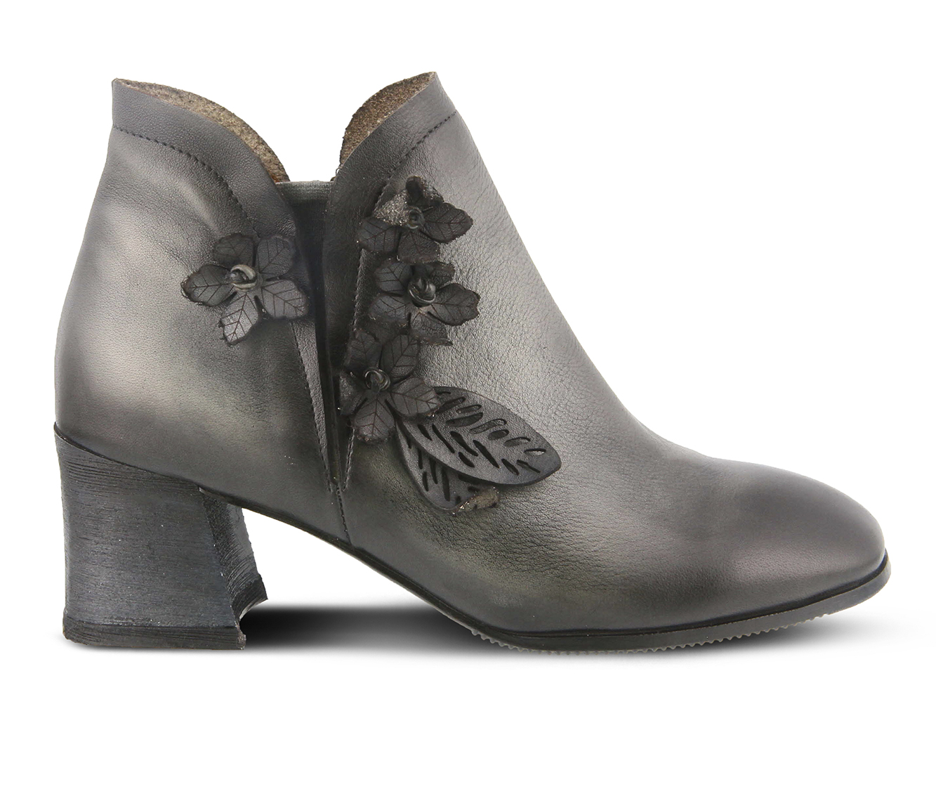 L'Artiste Loralie Women's Boots (Gray Leather)