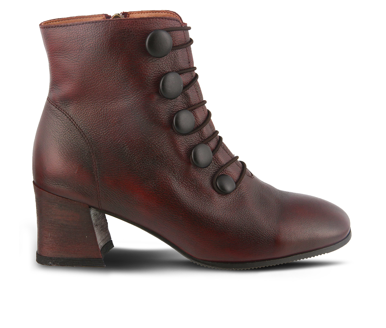 L'Artiste Mitzie Women's Boots (Red Leather)