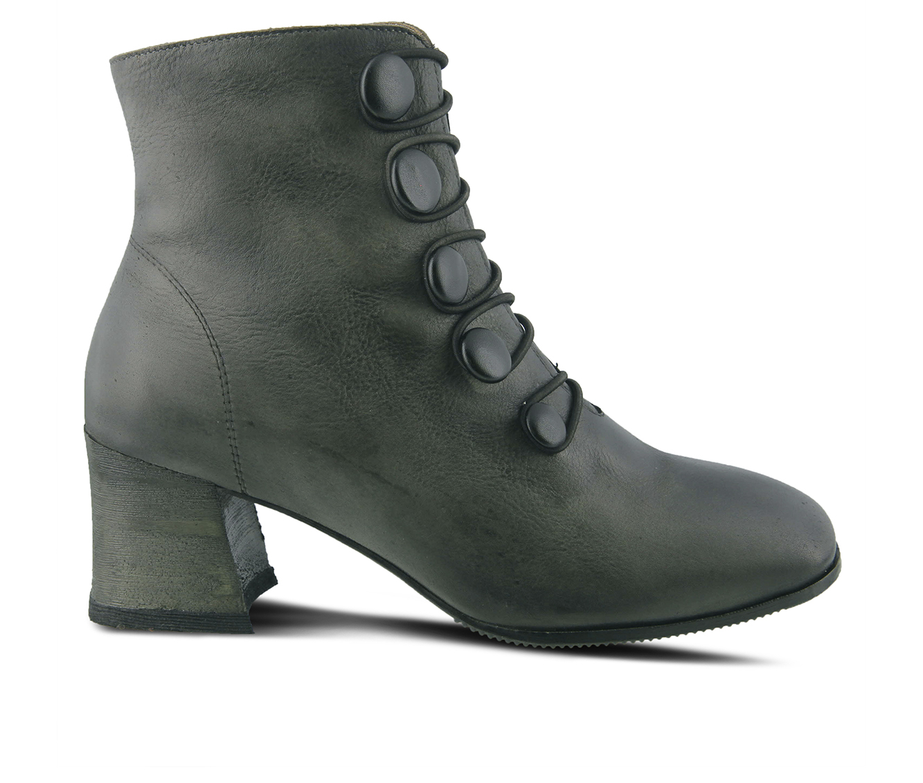 L'Artiste Mitzie Women's Boots (Gray Leather)