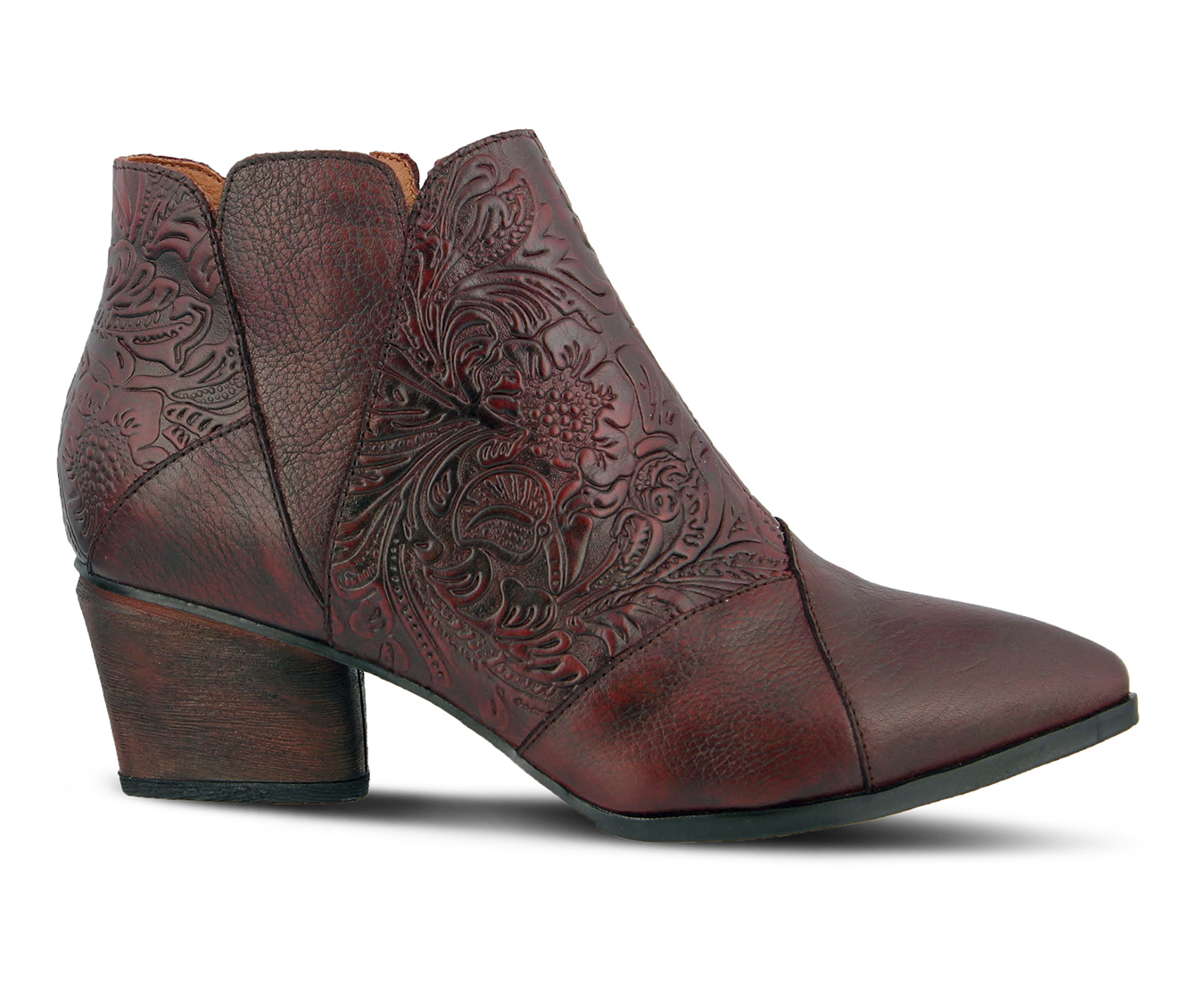 L'Artiste Melodie Women's Boots (Red Leather)
