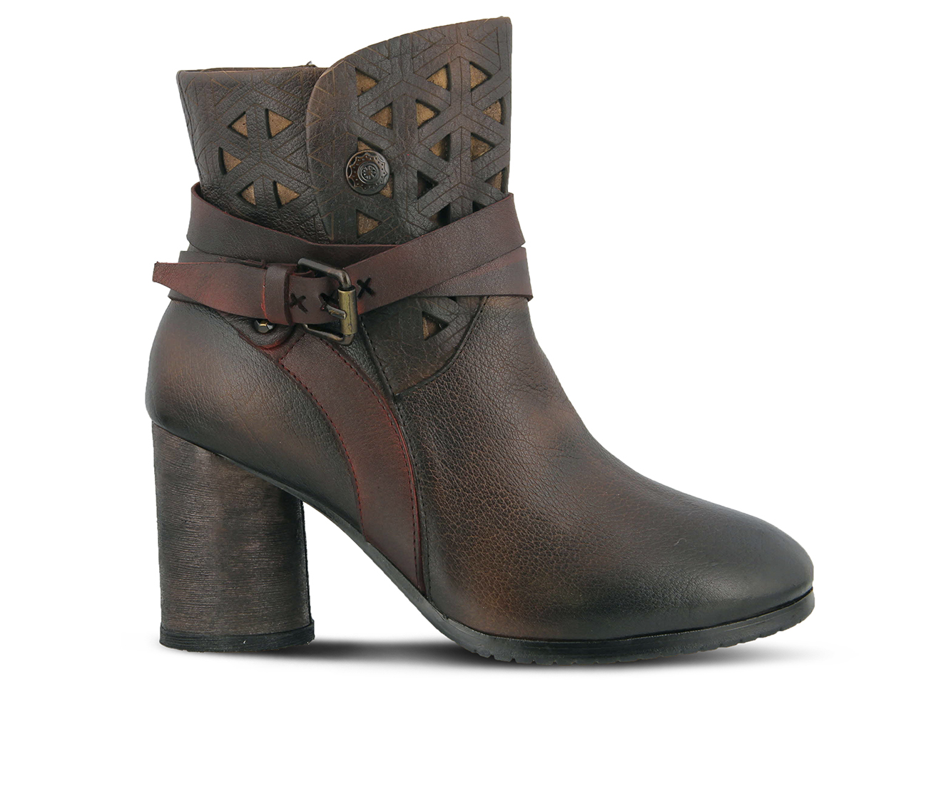 L'Artiste Madonna Women's Boots (Brown Leather)