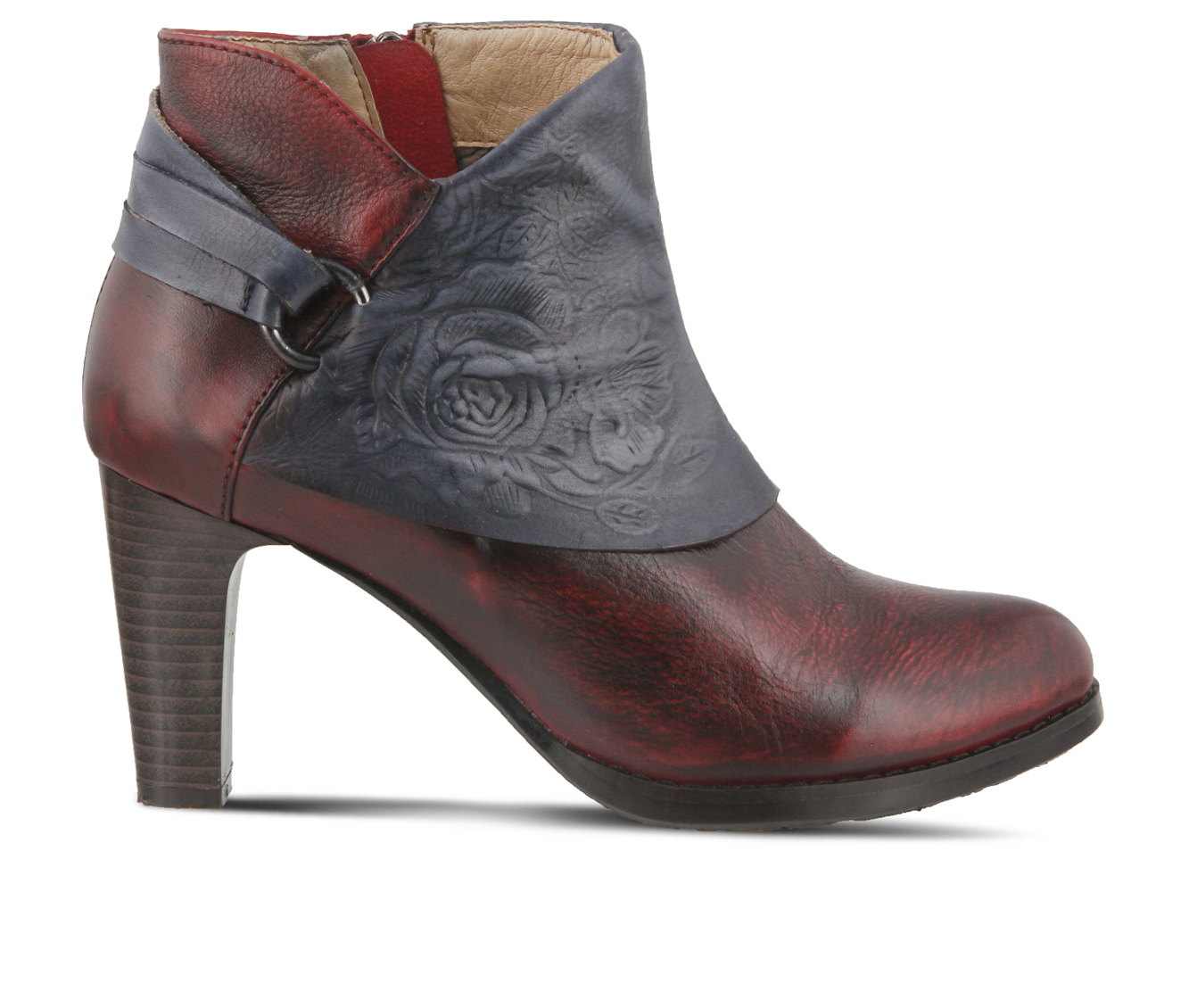 L'Artiste Lora Women's Boots (Red Leather)