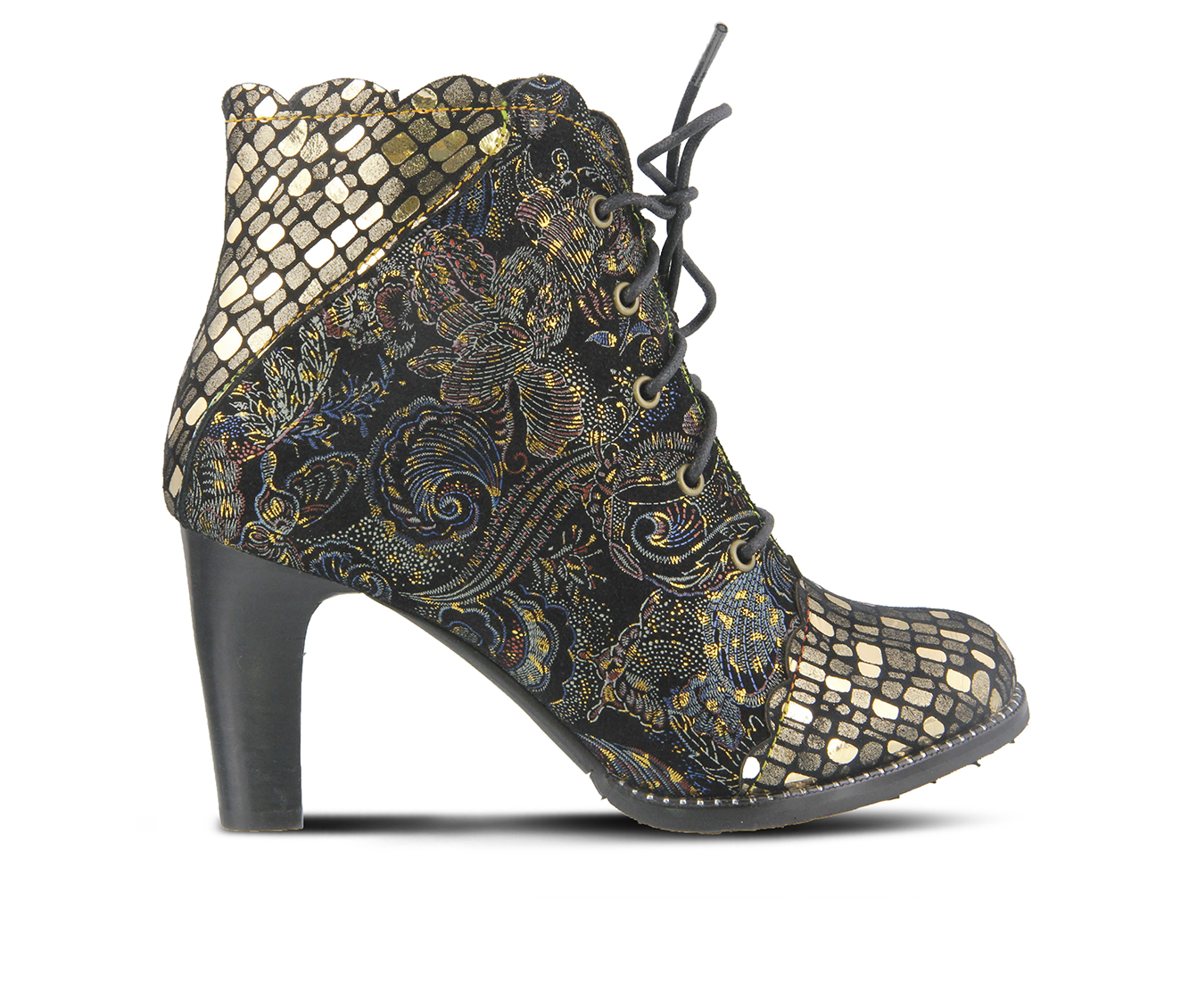 L'Artiste Glitterail Women's Boots (Gold Leather)