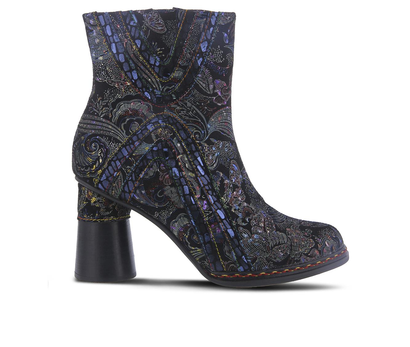 L'Artiste Sopretti Women's Boots (Black Leather)