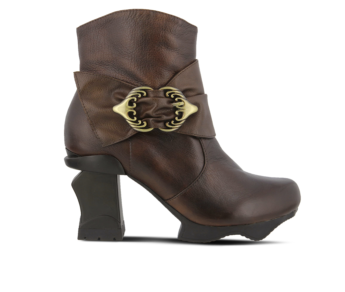 L'Artiste Natia Women's Boots (Brown Leather)