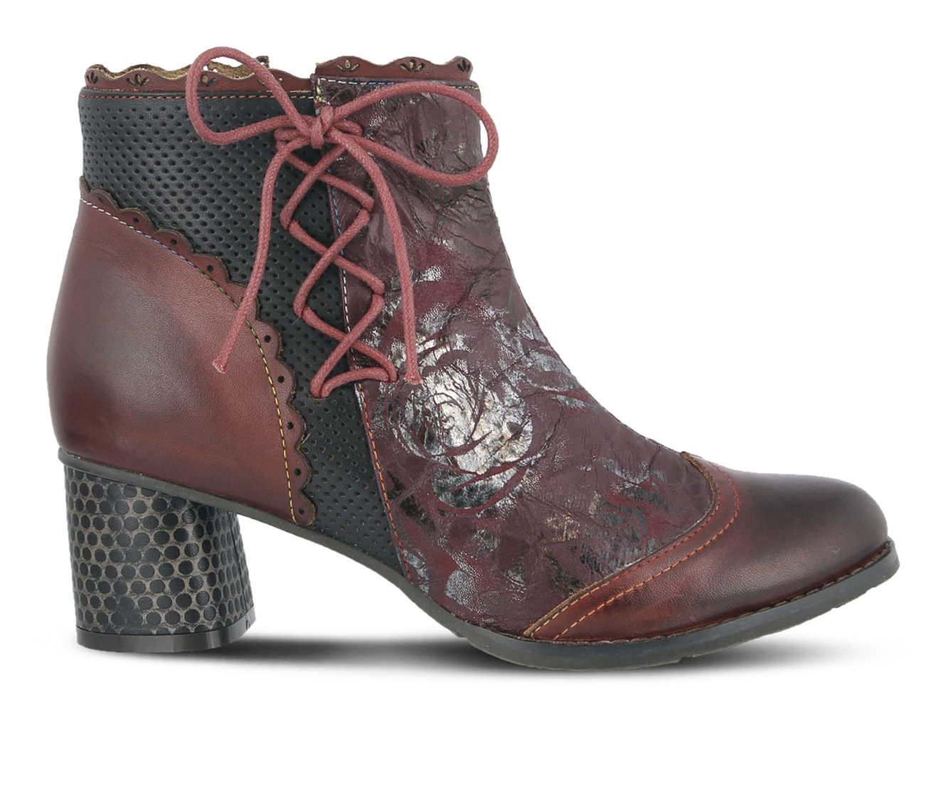 L'Artiste Lizeit Women's Boots (Red Leather)