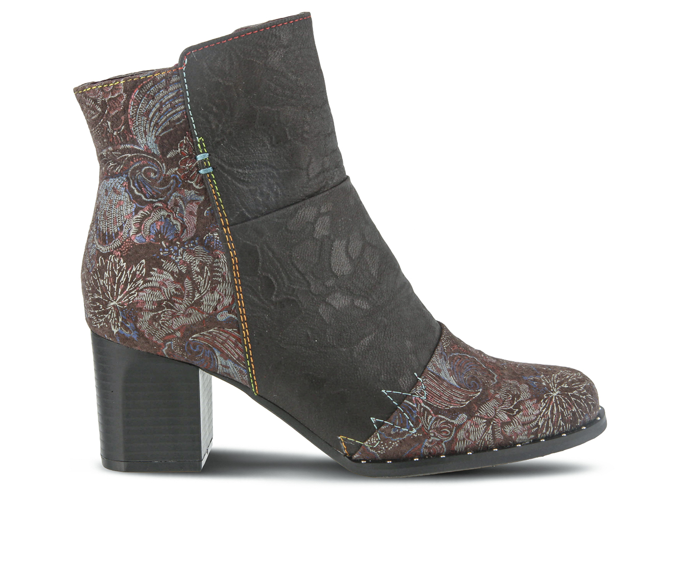 L'Artiste Jewells Women's Boots (Brown Leather)
