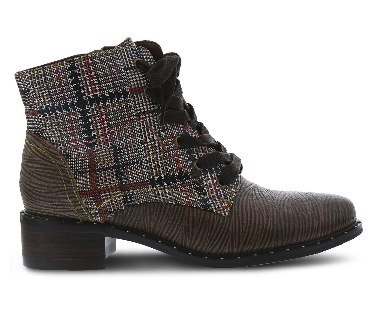 L'Artiste Mazoya Women's Boots (Brown Leather)
