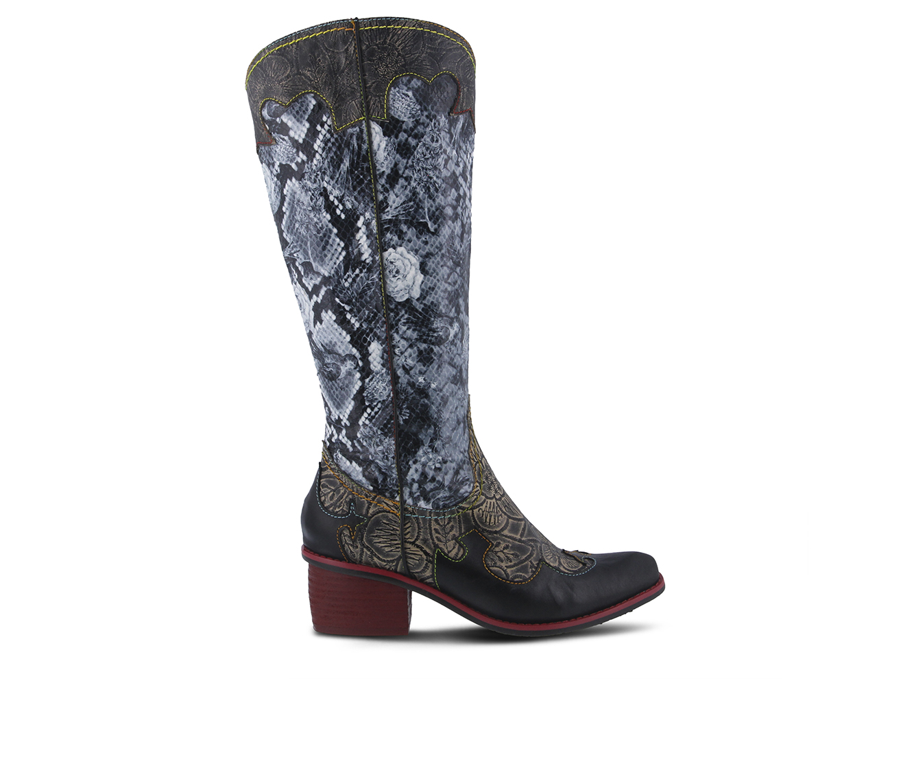 L'Artiste Rodeo Women's Boots (Black Leather)
