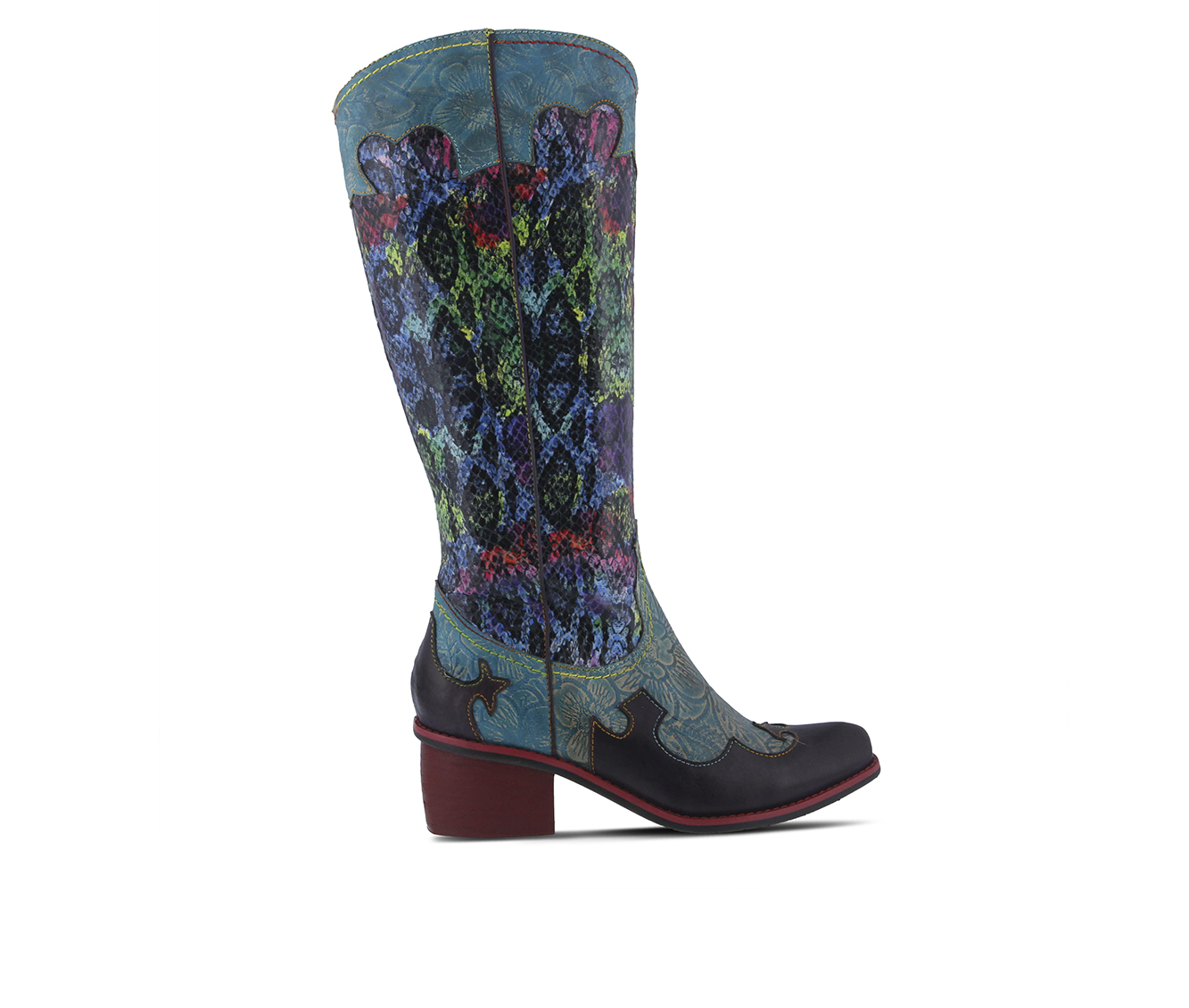 L'Artiste Rodeo Women's Boots (Blue Leather)