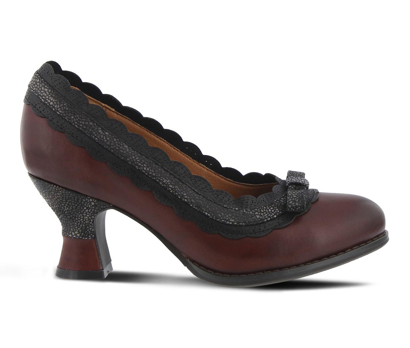 L'Artiste Kirstie Women's Dress Shoe (Red Leather)