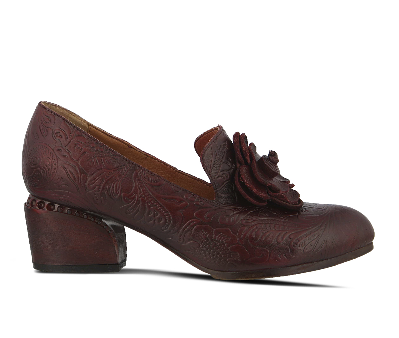 L'Artiste Noora Women's Dress Shoe (Red Leather)