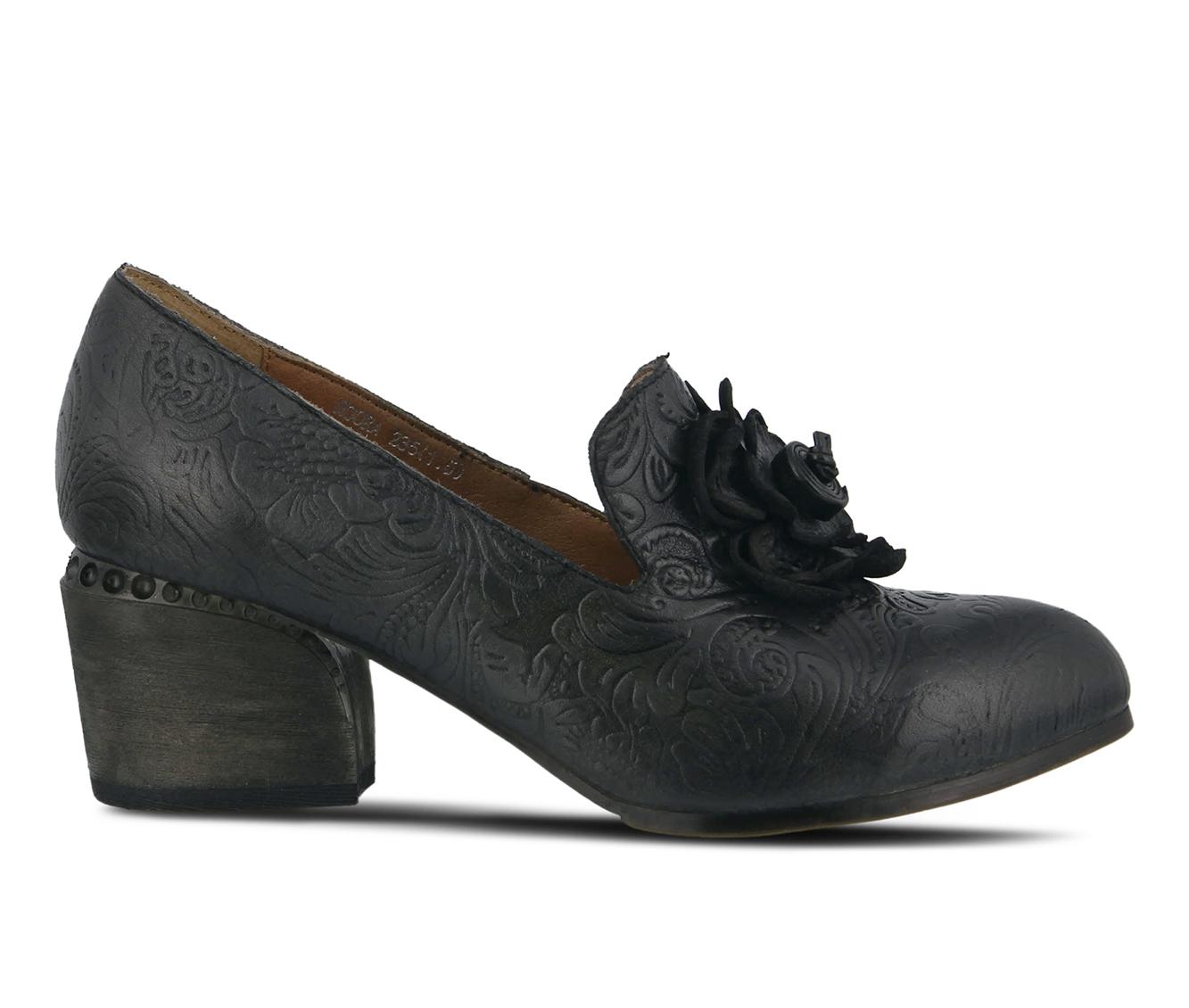 L'Artiste Noora Women's Dress Shoe (Gray Leather)