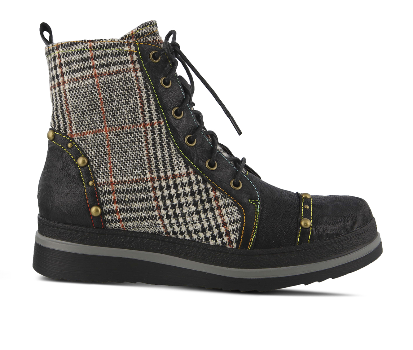 L'Artiste Rehja Women's Boots (Black Leather)