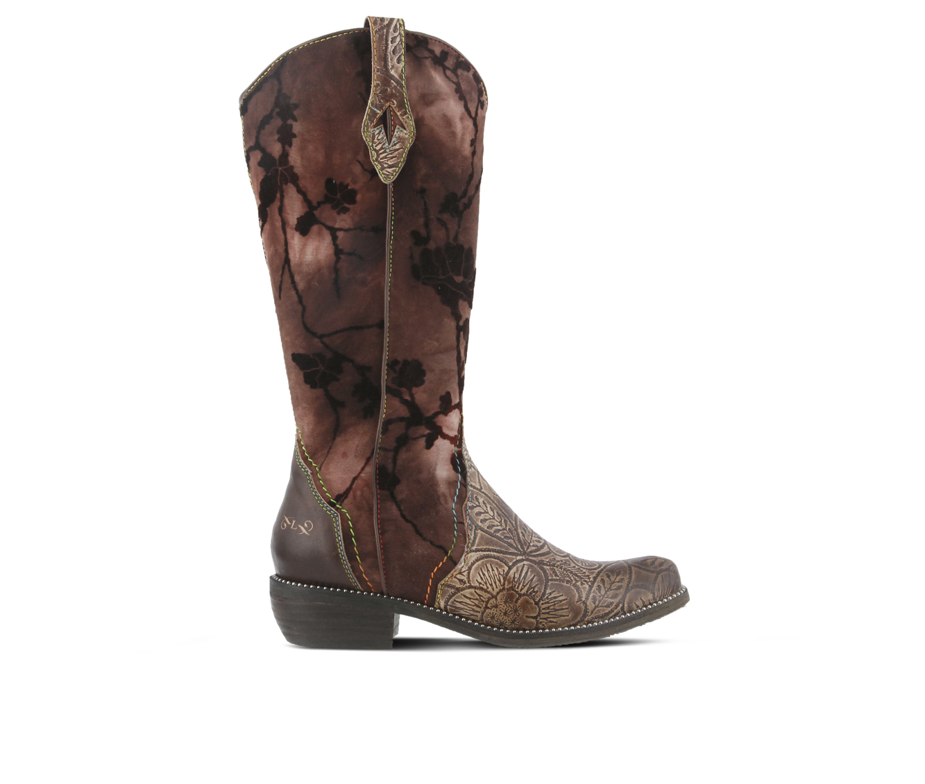 L'Artiste Laretilyn Women's Boots (Brown Leather)