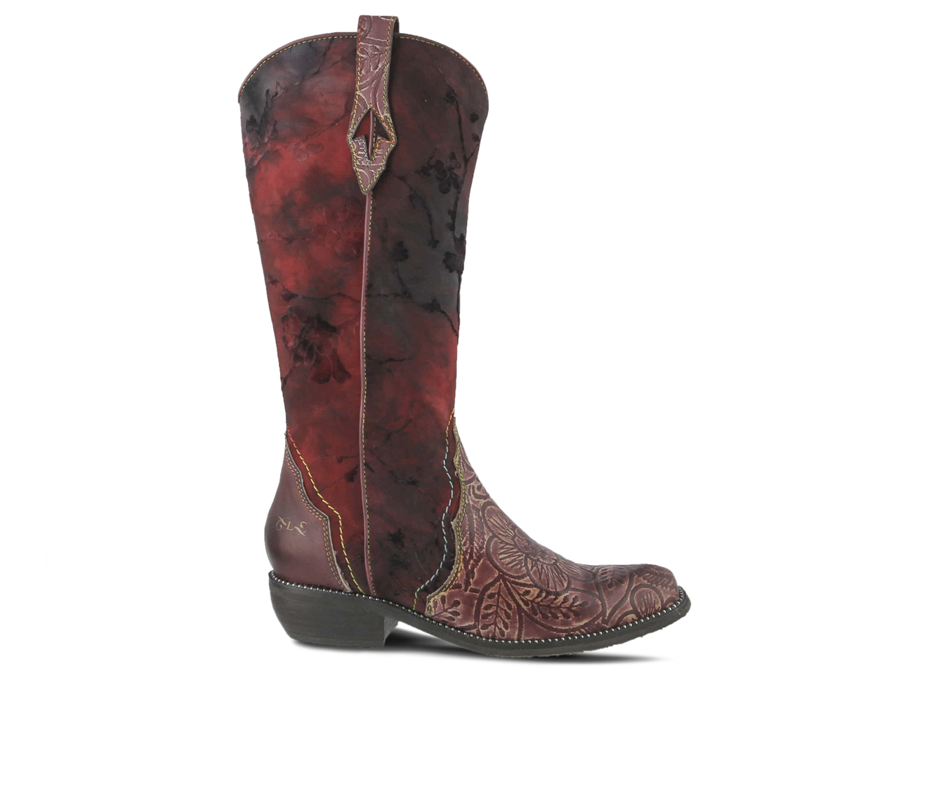 L'Artiste Laretilyn Women's Boots (Red Leather)