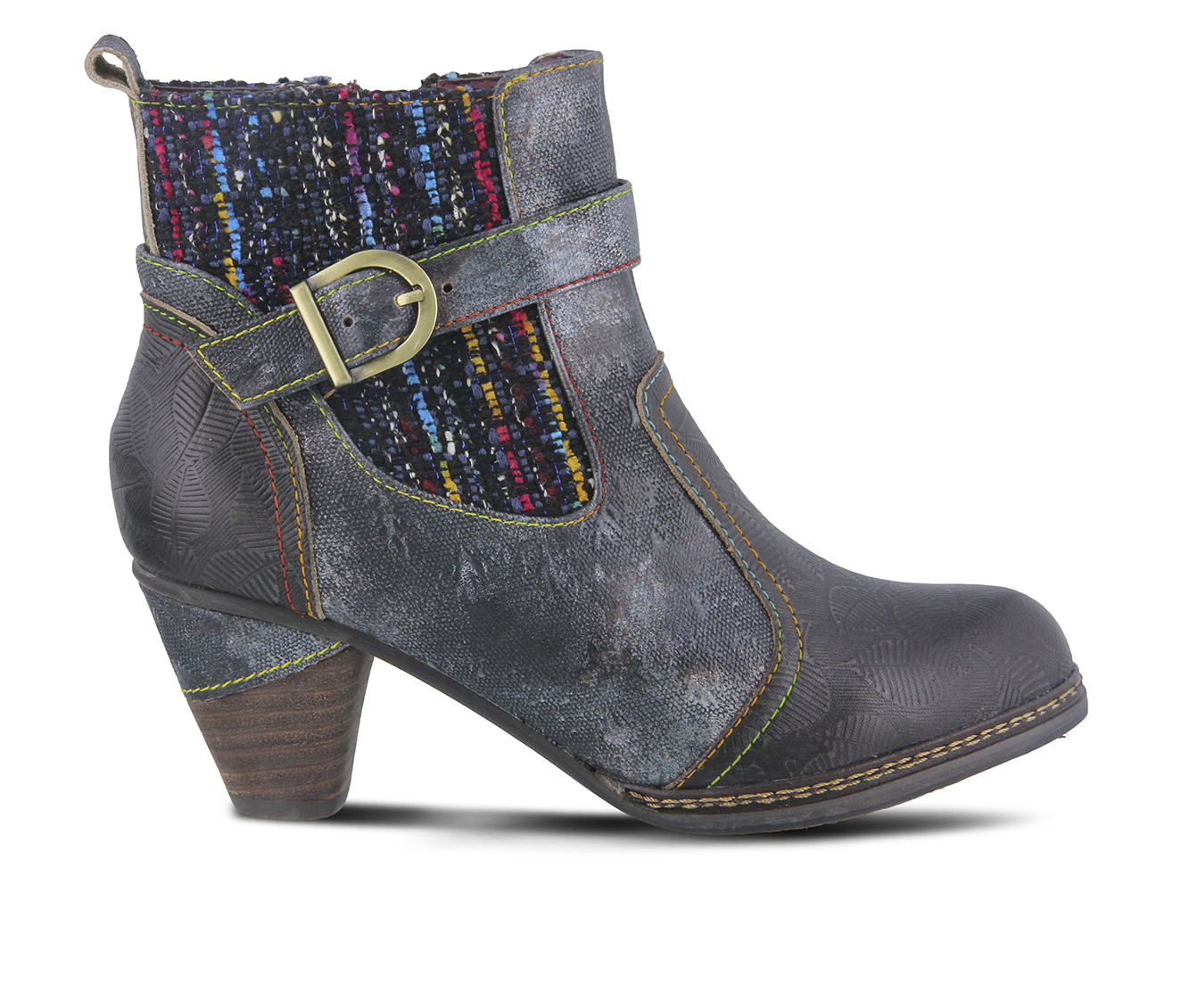 L'Artiste Nancies Women's Boots (Black Leather)