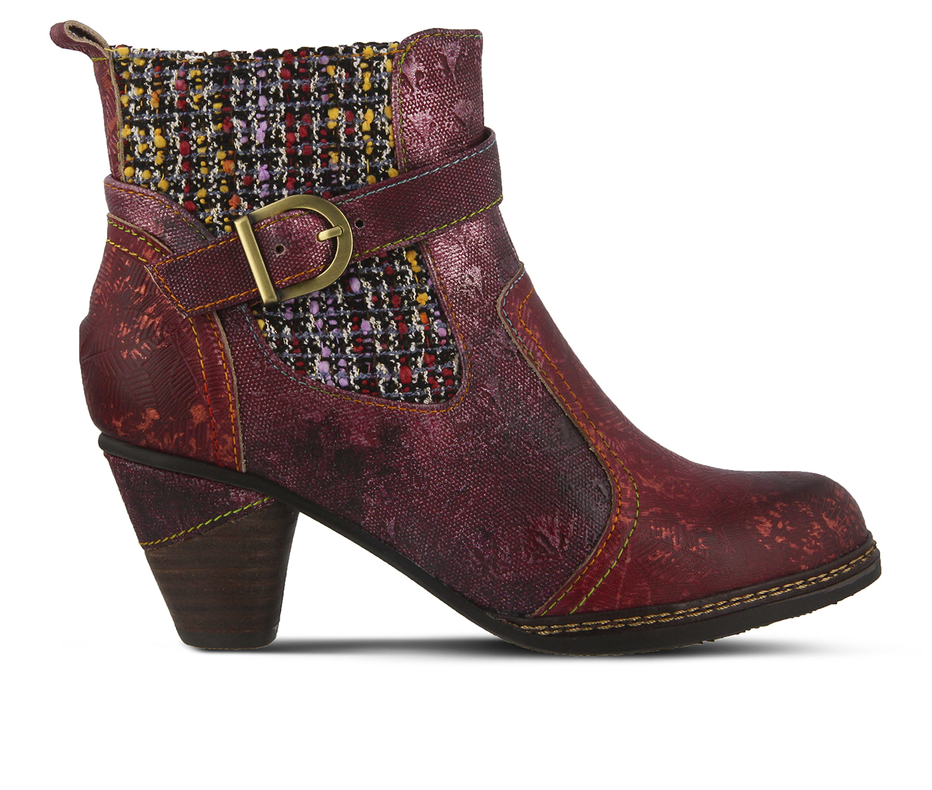 L'Artiste Nancies Women's Boots (Red Leather)