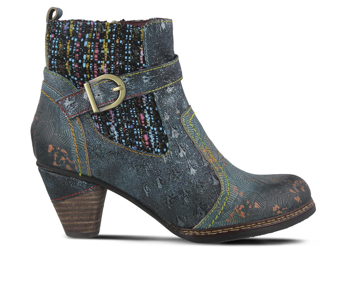 L'Artiste Nancies Women's Boots (Blue Leather)