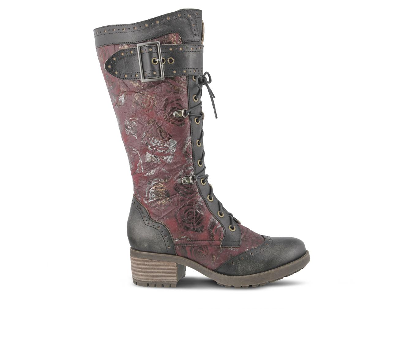 L'Artiste Kisha Women's Boots (Black Leather)