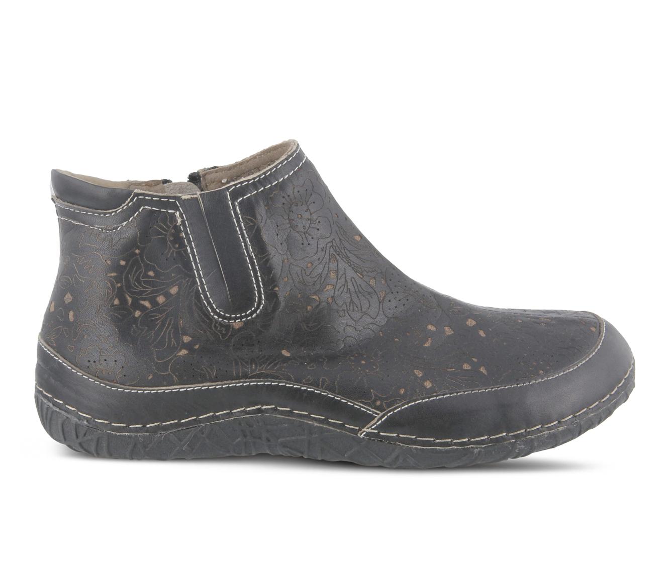 L'Artiste Libootie Women's Boots (Black Leather)