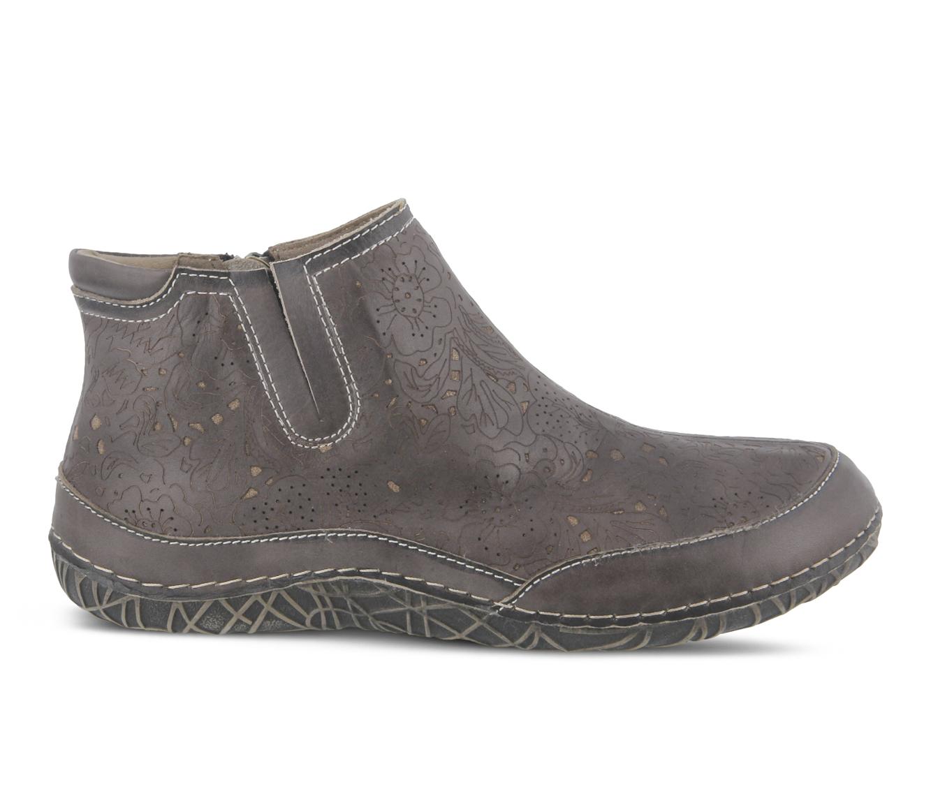 L'Artiste Libootie Women's Boots (Brown Leather)