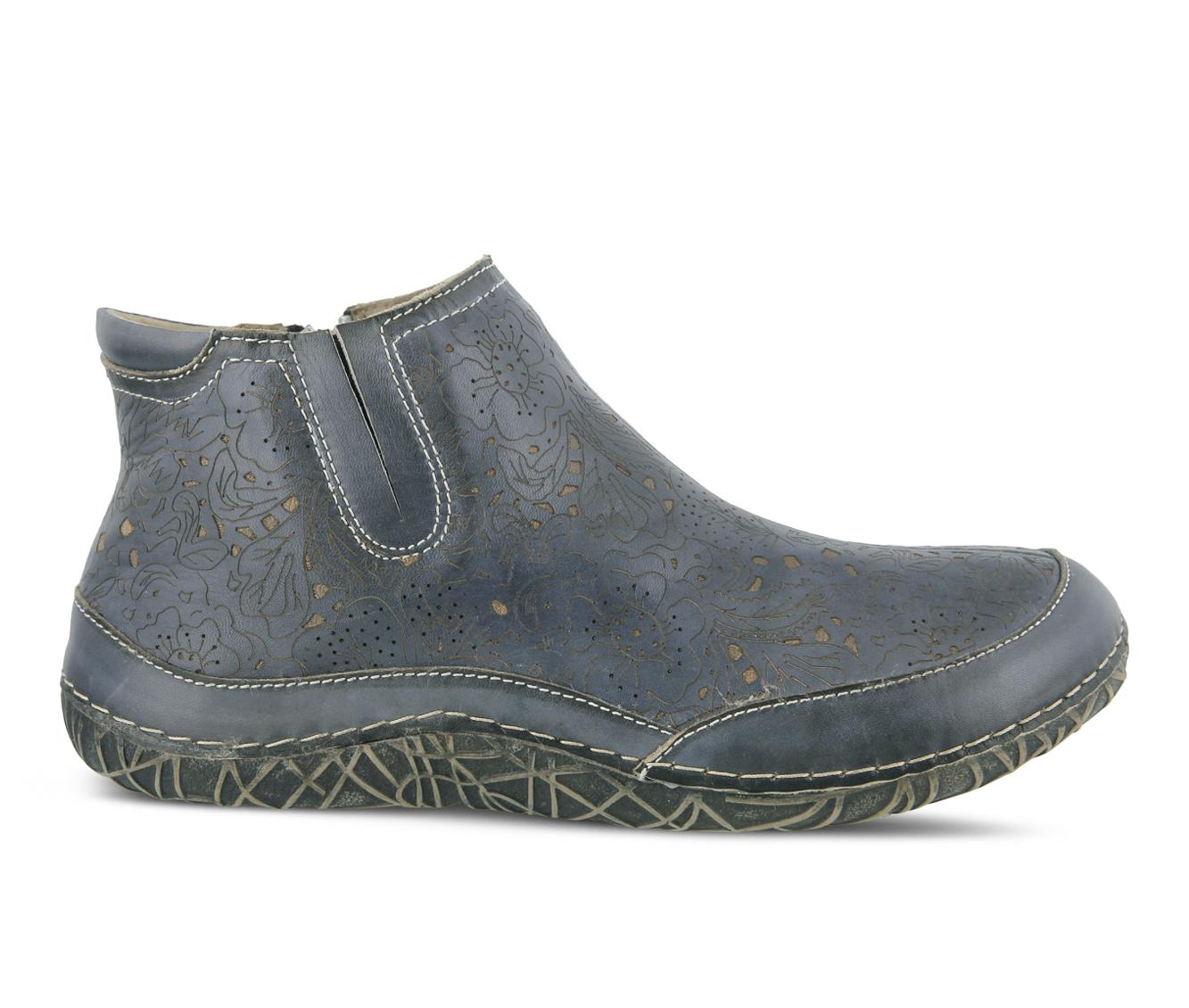 L'Artiste Libootie Women's Boots (Blue Leather)