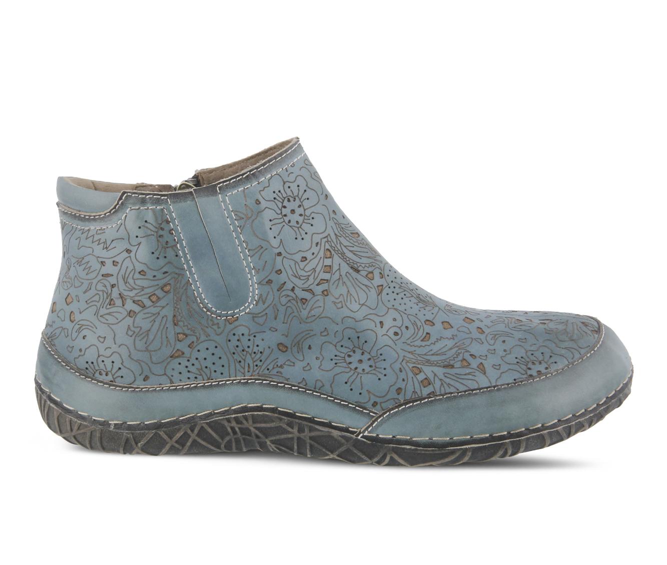 L'Artiste Libootie Women's Boots (Green Leather)