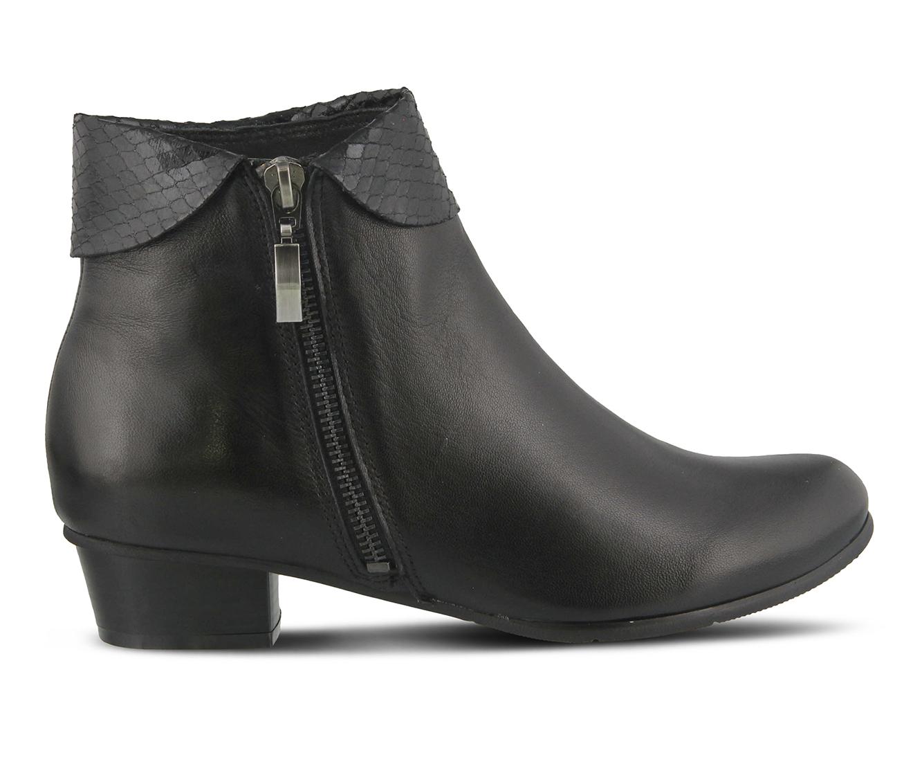 L'Artiste Stockholm Women's Boots (Black Leather)