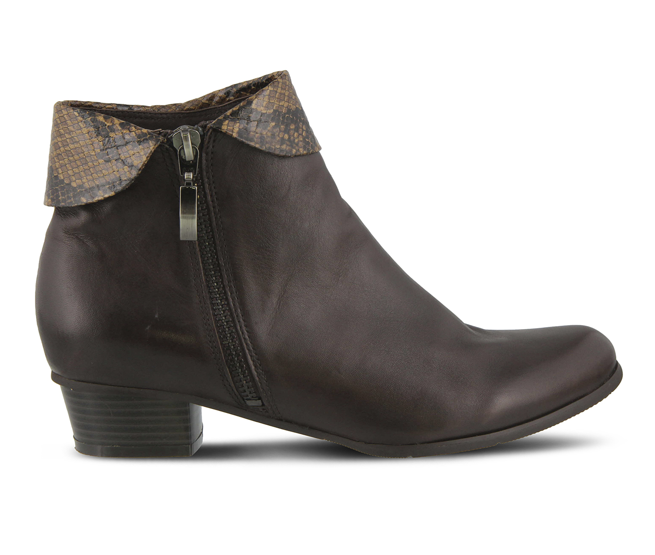 L'Artiste Stockholm Women's Boots (Brown Leather)