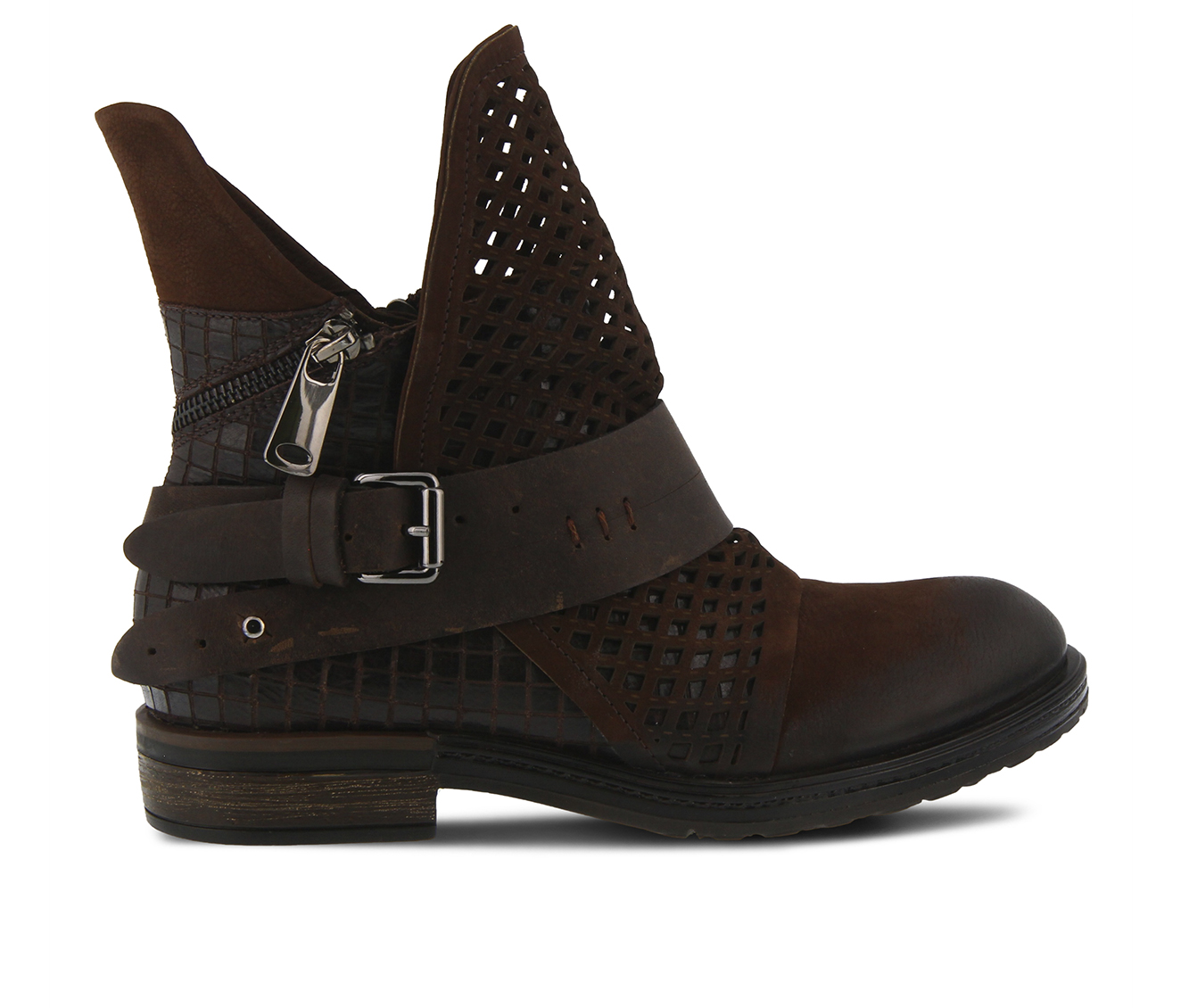 SPRING STEP Gavotta Women's Boots (Brown Leather)