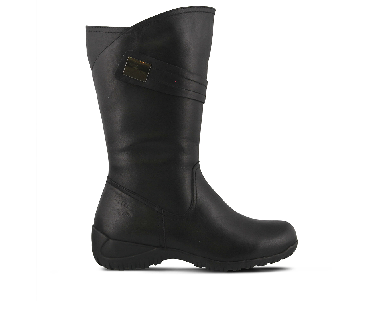 SPRING STEP Bismarck Women's Boots (Black Leather)