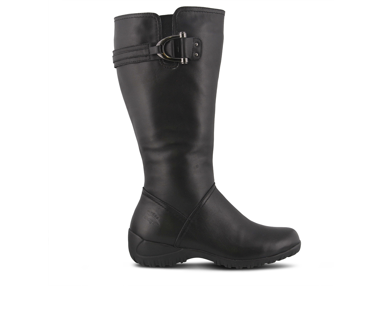 SPRING STEP Albany Women's Boots (Black Leather)