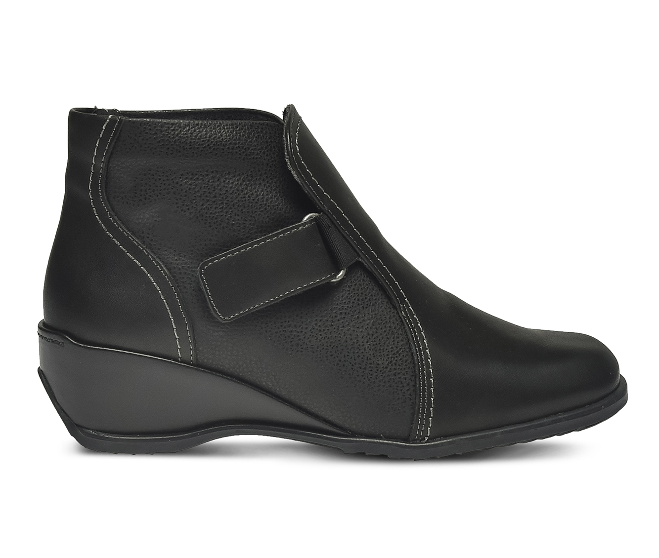 SPRING STEP Andrea Women's Boots (Black Leather)
