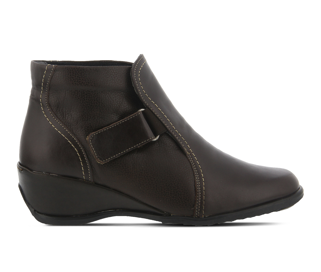 SPRING STEP Andrea Women's Boots (Brown Leather)