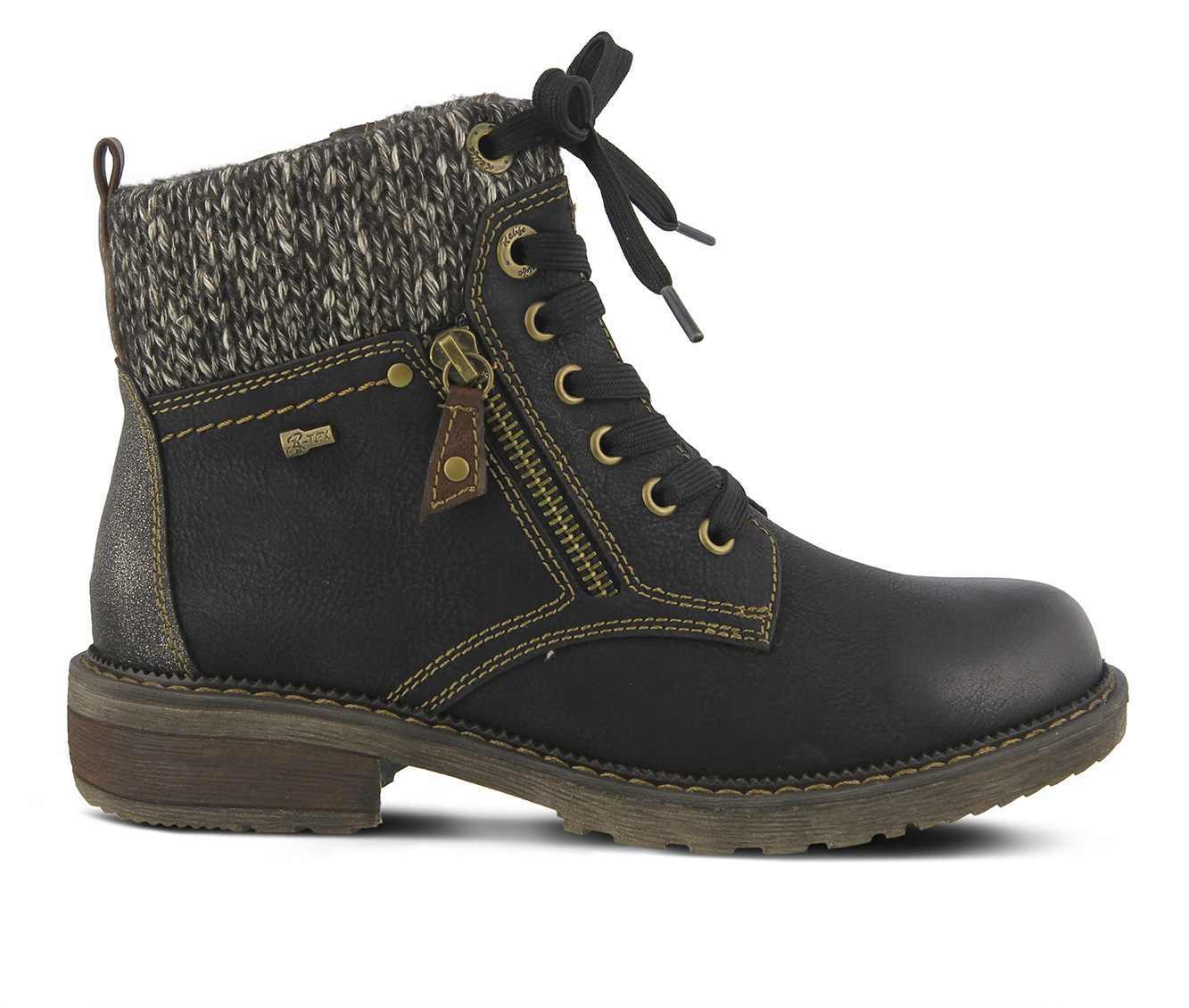 SPRING STEP Khazera Women's Boots (Black Canvas)