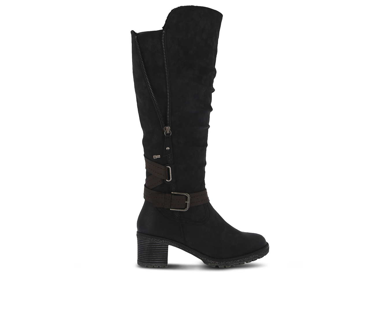 SPRING STEP Gemisola Women's Boots (Black Faux Leather)