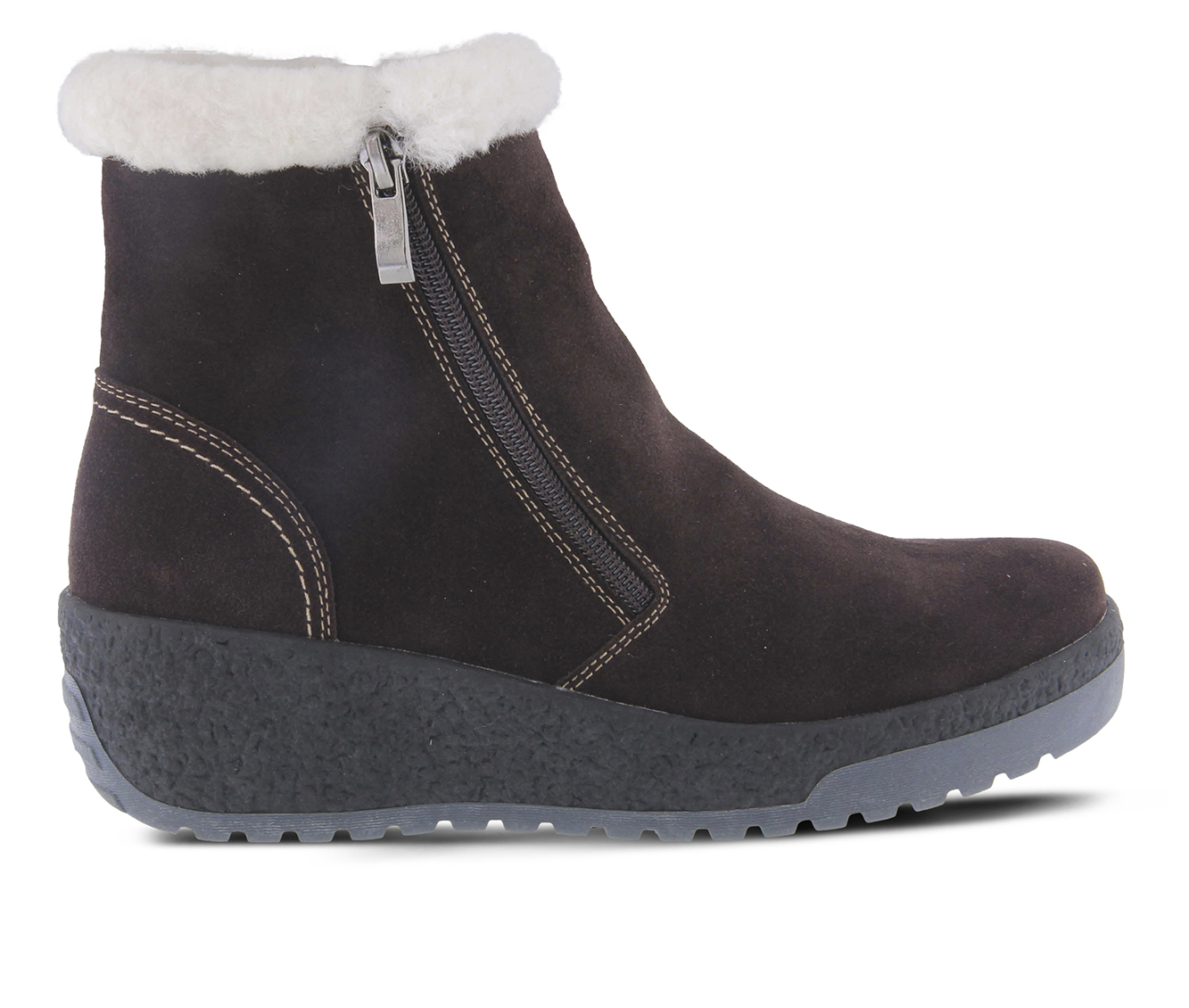 SPRING STEP Lambi Women's Boots (Brown Suede)
